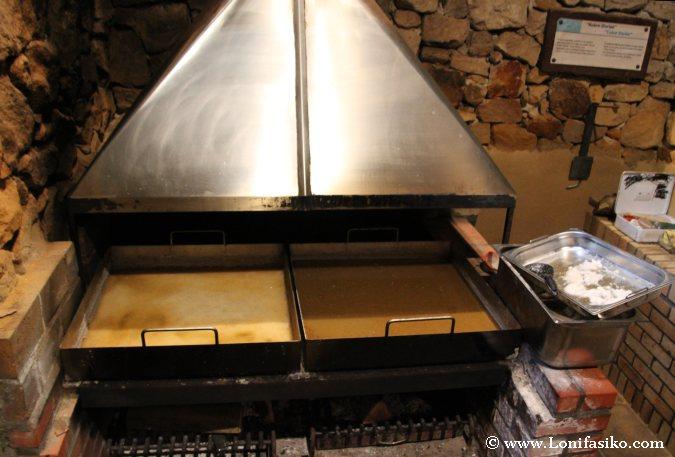 Calentamiento a fuego lento para producción de sal