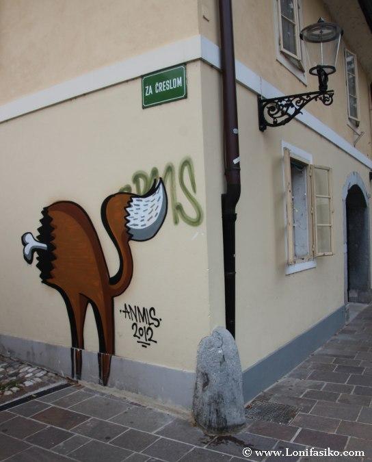 Street Art en Liubliana
