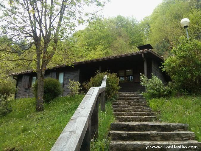 Cabañas rurales en la montaña