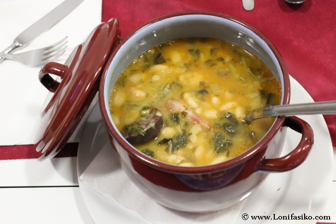 Comer cocido montañés en Cantabria