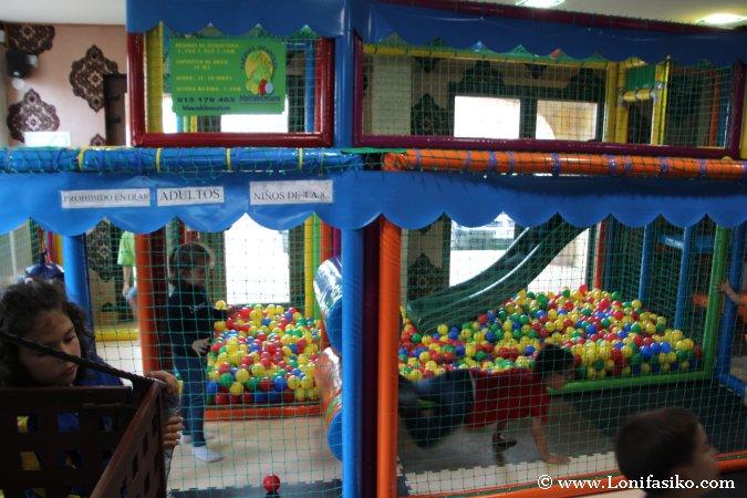 Parque infantil para niños en Cabárceno