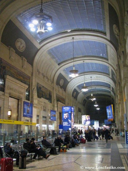 Decoración Estación Milano Centrale