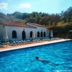 Hotel con piscina en Aracena