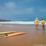 Playas con socorrista en Portugal