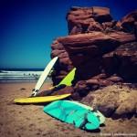 Dónde hacer surf en Portugal. Praia do Amado, Carrapateira