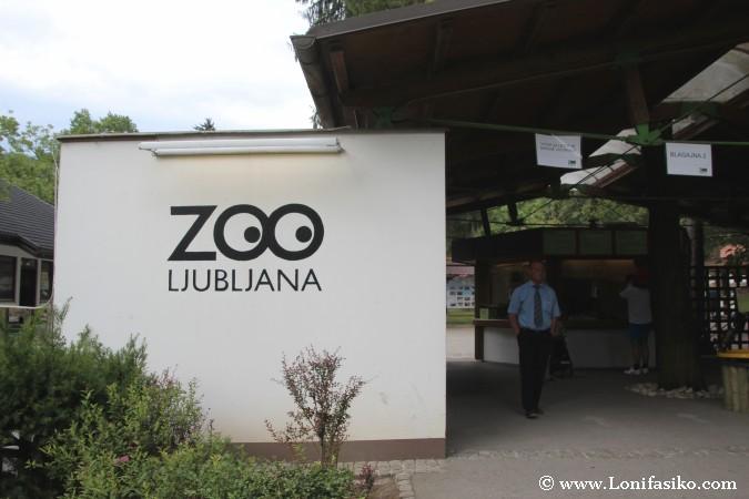 Entrada zoo de Liubliana