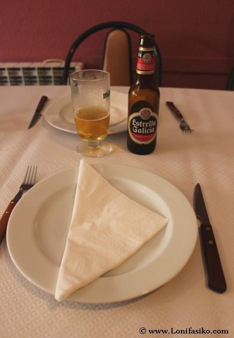 Beber Estrella Galicia