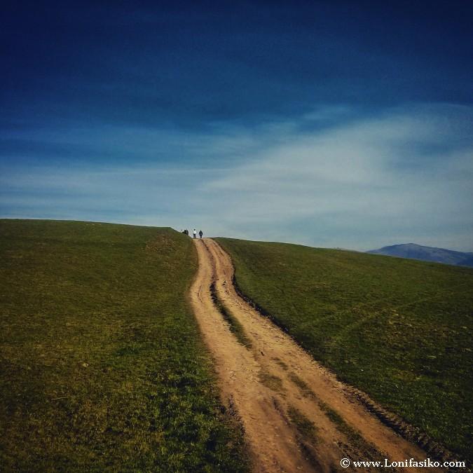 Camino al horizonte