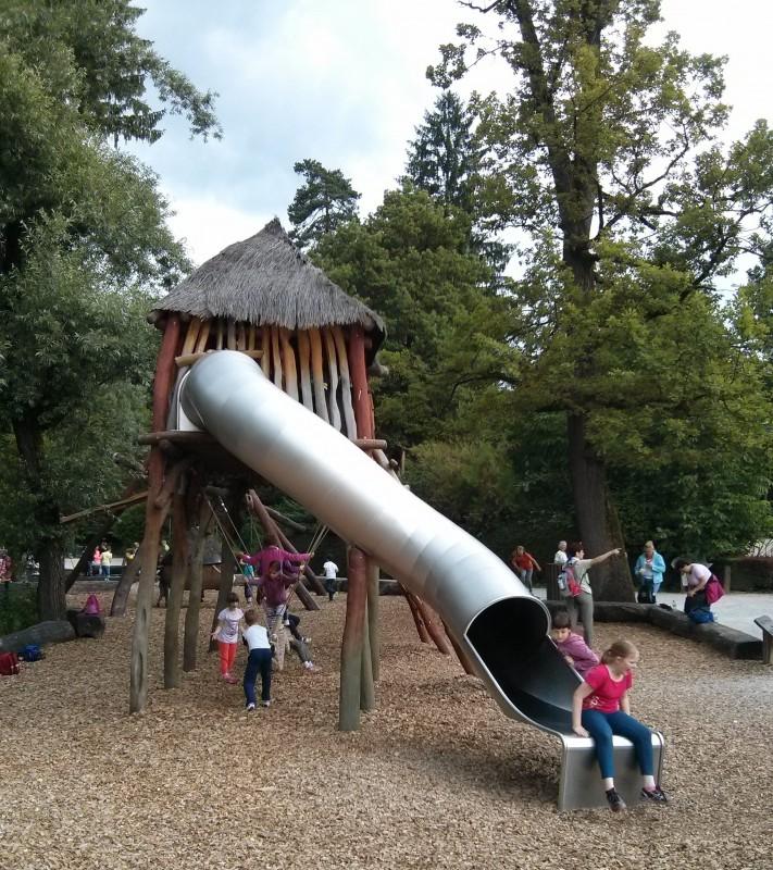 Atracciones infantiles zoo de Liubliana