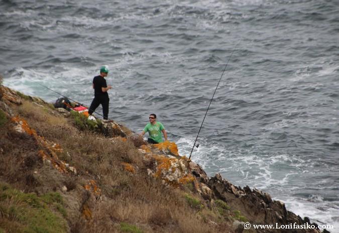 Sitios para pescar en Galicia
