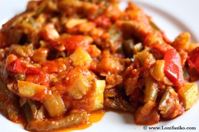 Pisto de verduras andaluz