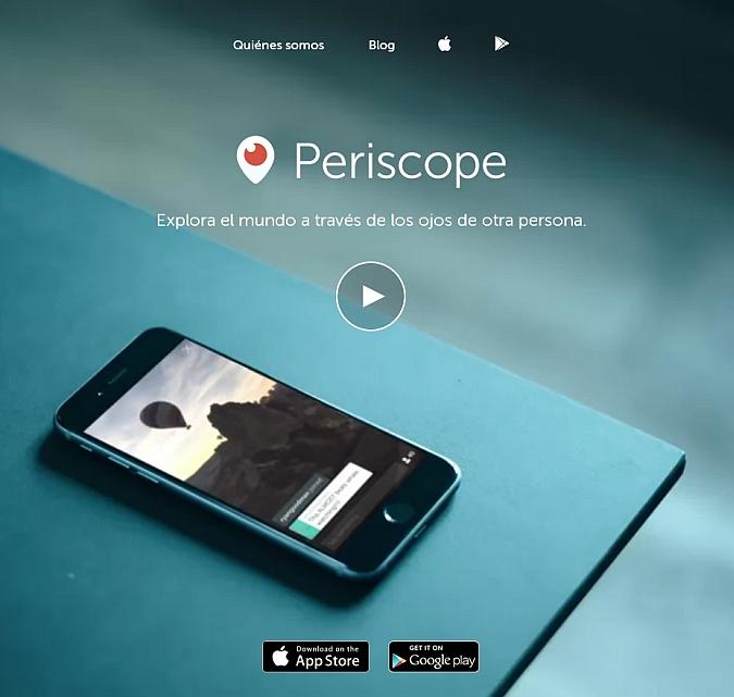 Periscope, la nueva app. de Twitter