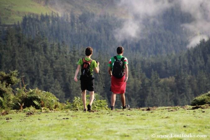 Senderismo en Euskadi
