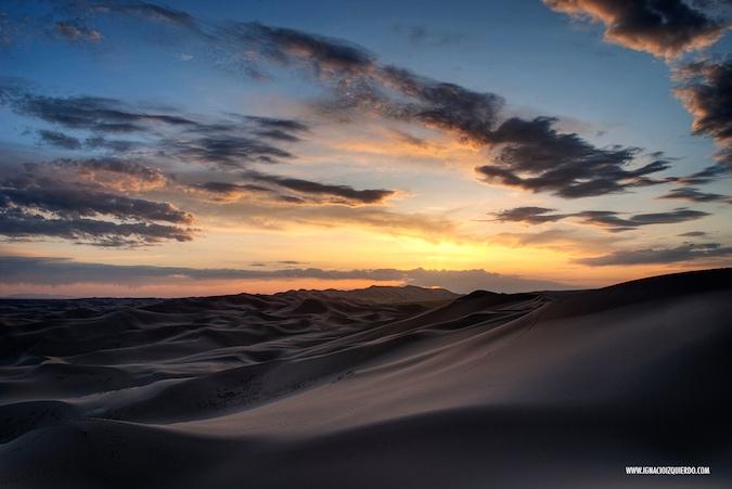 Atravesar el desierto de Gobi
