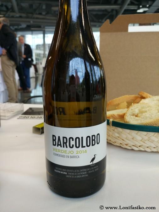 Barcolobo Verdejo 2014 fermentado en barrica