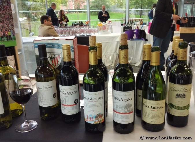 Vinos tintos Bodegas La Rioja Alta