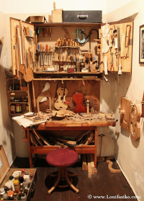 Taller de un luthier