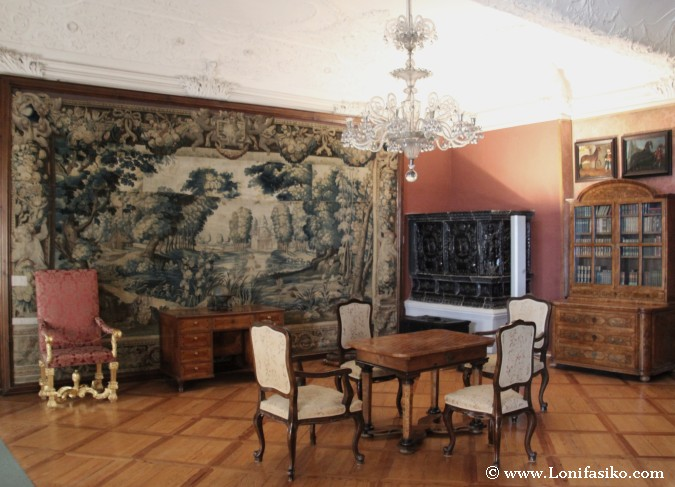 Salones Castillo de Ptuj por dentro
