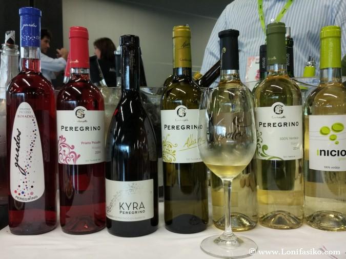 Vinos blancos de uva albarín