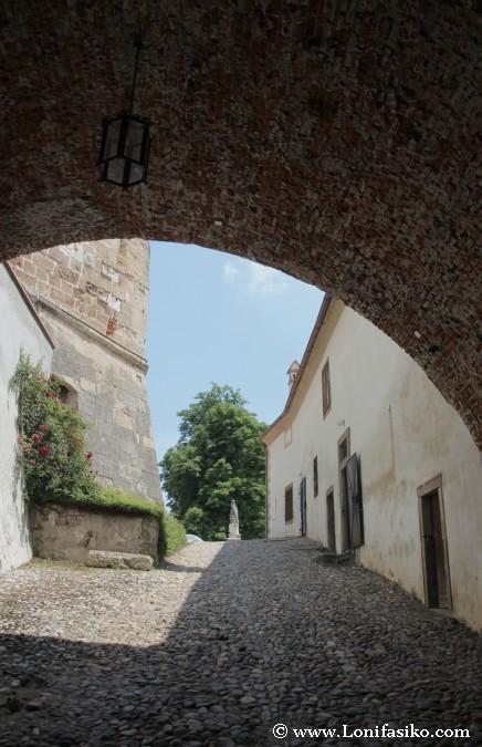 Castillo de Ptuj: Puerta de entrada