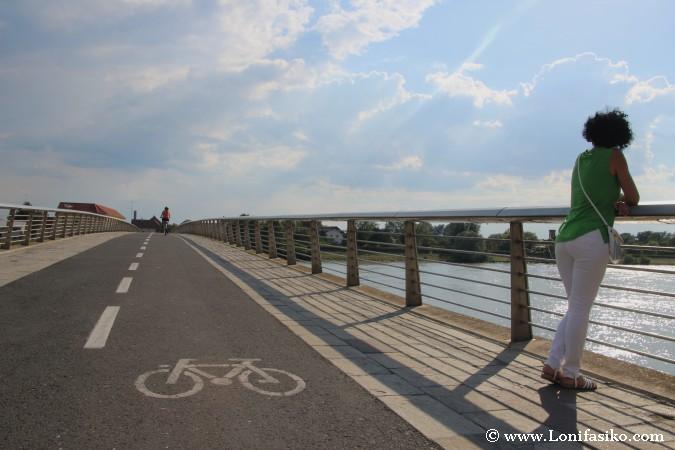 Ptuj: Puente sobre el río Drava
