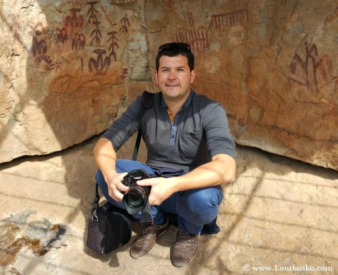 Visitar pinturas rupestres esquemáticas de Peña Escrita en Fuencaliente