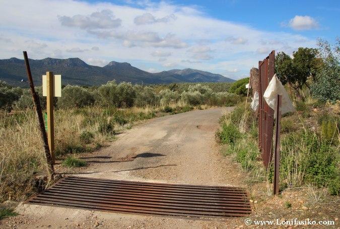 Localización y acceso al Abrigo de Peña Escrita
