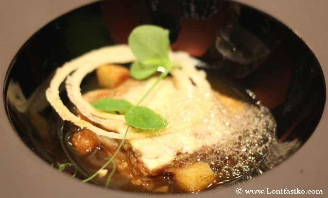 Aizian Bilbao Restaurante menu degustación