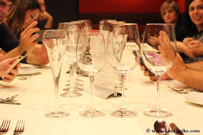 Cenar con amigos
