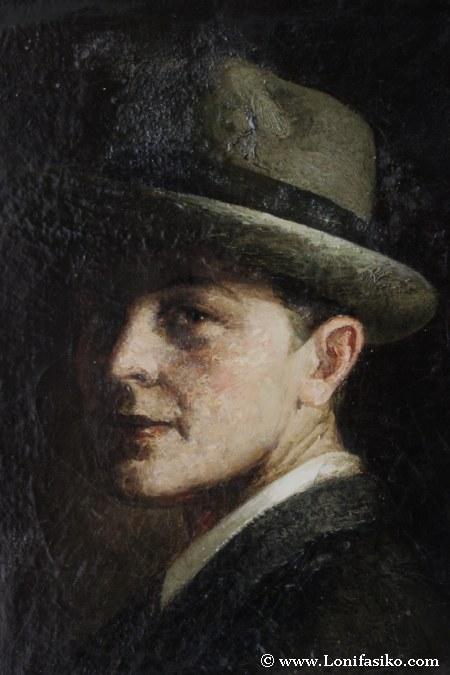 Alfredo Palmero, autoretrato