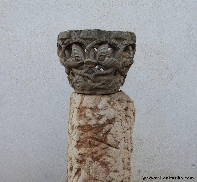 Vestigios romanos de Sisapo en el Museo Palmero