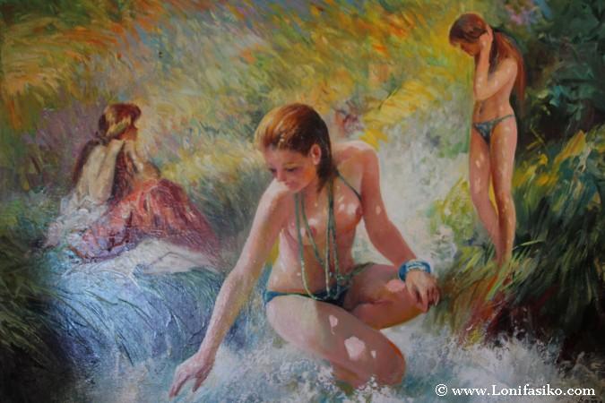 Pinturas de mujeres desnudas
