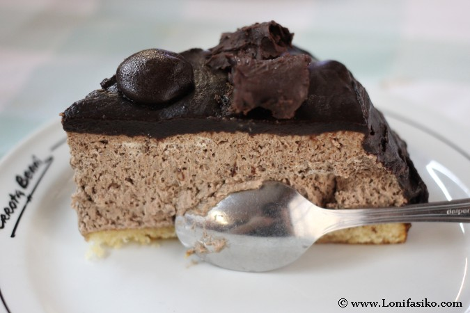 Tarta de chocolate de Mendaro