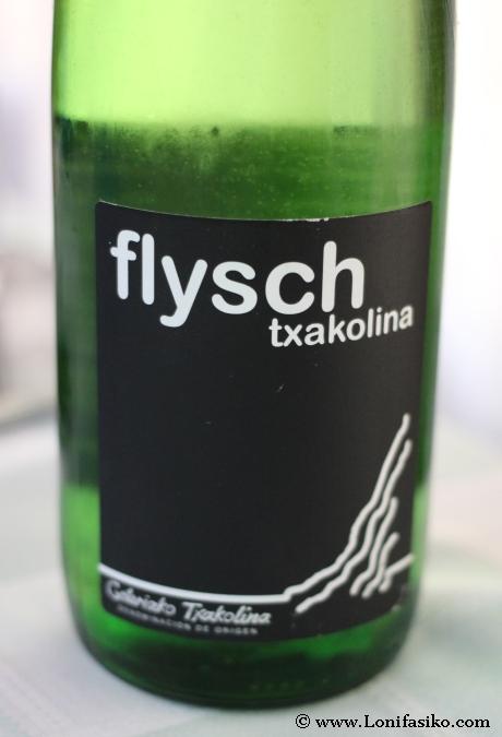 Txakoli flysch txakolina