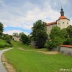 Paseo histórico y chapuzón episcopal en Škofja Loka, la ciudad de los obispos