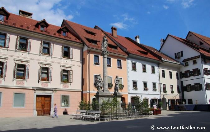 Arquitectura en Škofja Loka