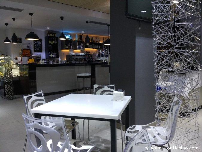 Bar-Cafetería de hotel