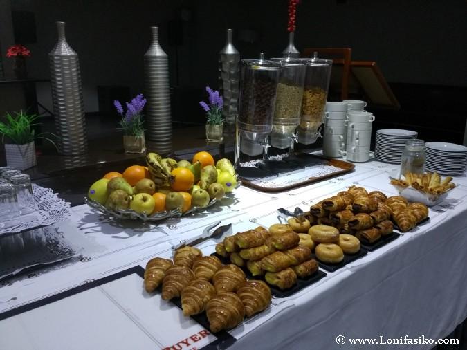 Desayunos de hotel
