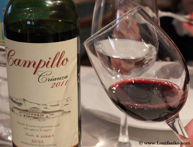 Campillo Crianza 2011 Vino Tinto Rioja
