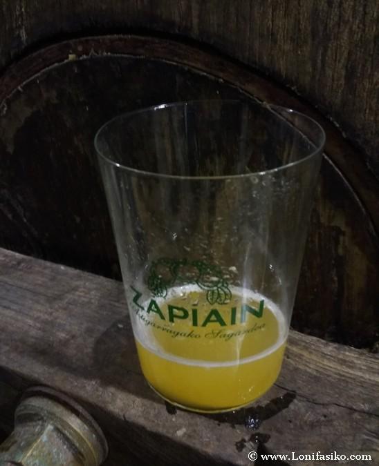 Sidra vasca Zapiain sagardoa Astigarraga