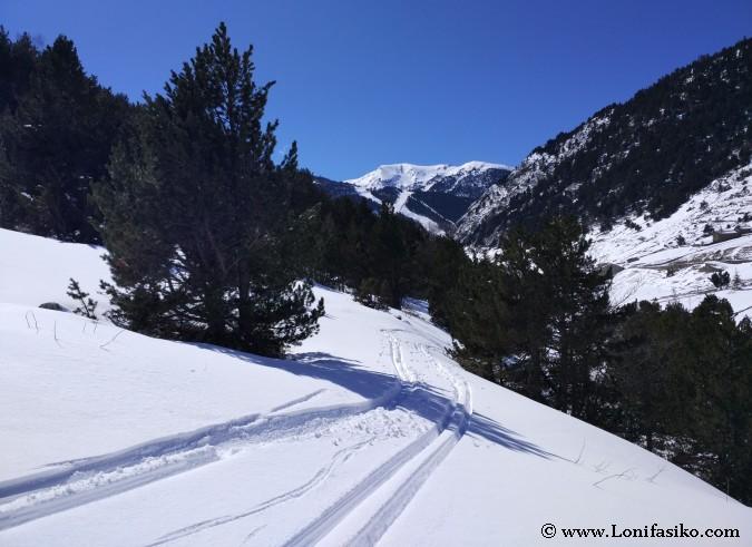 Rutas Raquetas de nieve Andorra powder
