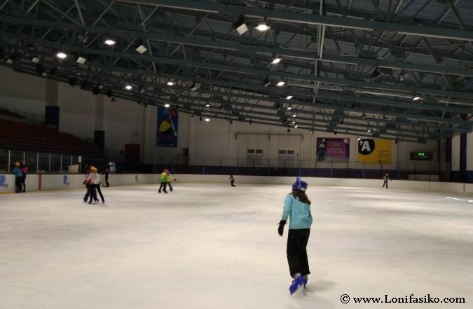 Patinar sobre hielo en Andorra Canillo