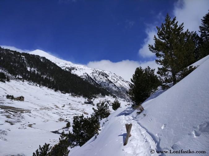 Raquetas nieve Andorra rutas