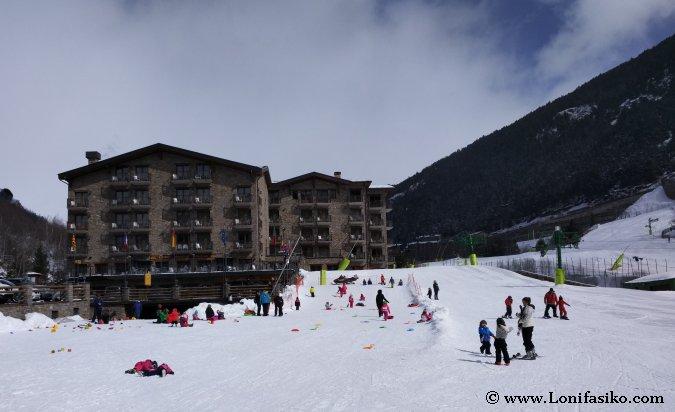 Esquiar en Parador Canaro Zona Debutantes