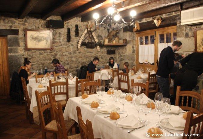 Restaurante Lezika Fotos Comedor