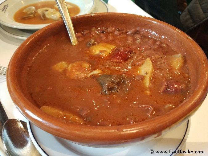 Dónde comer buena alubiada en Euskadi
