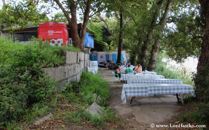 Playas de Bueu: Dónde comer