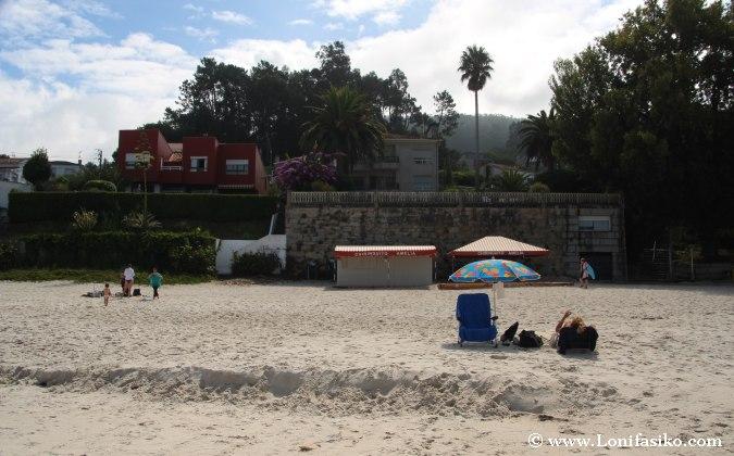 Playa Lapamán Bueu Chiringuito Amelia