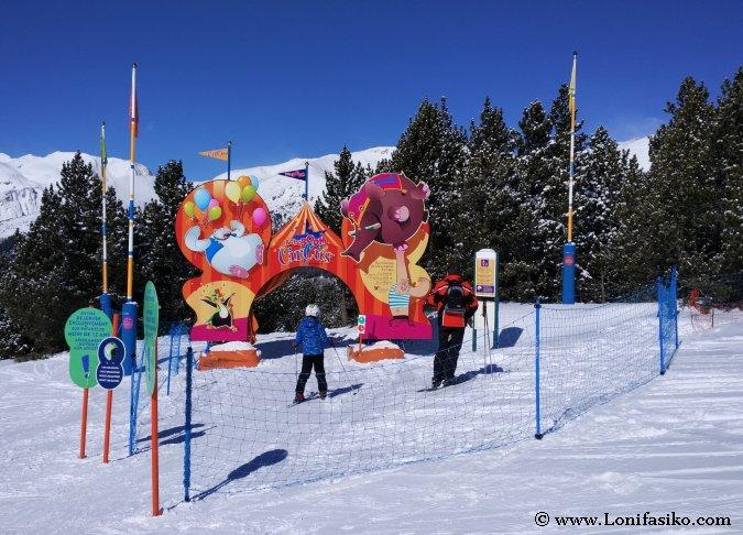 Esqui Grandvalira niños fotos