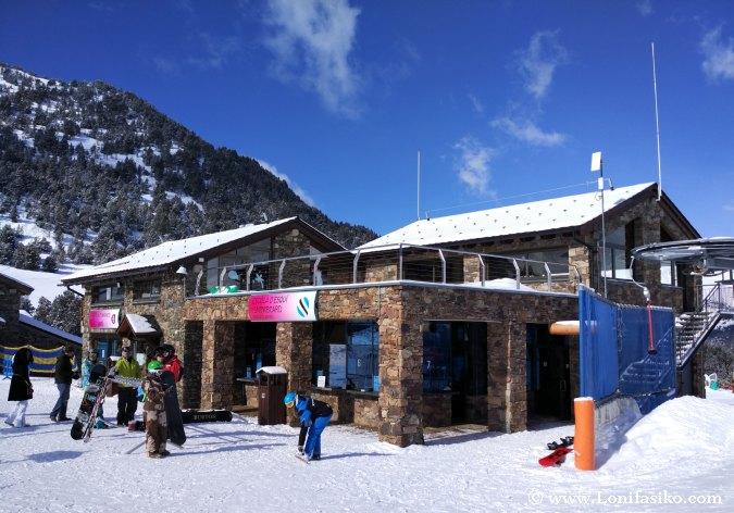 Escuela de esquí Grandvalira sector El Tarter